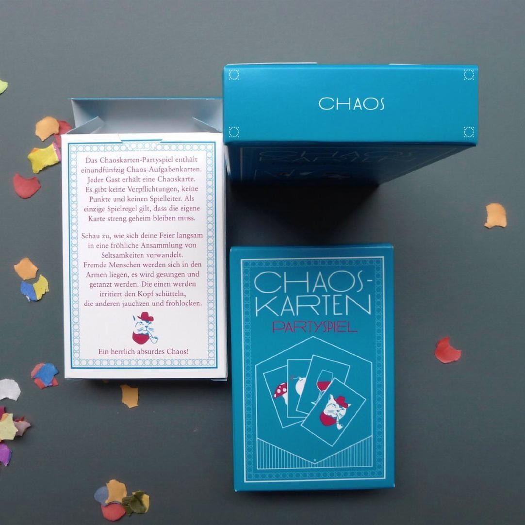 chaoskarten partyspiel das original f r 9. Black Bedroom Furniture Sets. Home Design Ideas